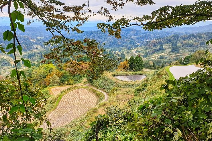 Hiking Rice Terrance Tokamach Niigata Japan - 新潟トレイル基本情報