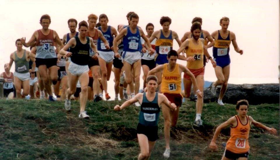 university relays circa 1985 paekakriki new zealand.bbb4da8c8766 - トレイル競技の装備